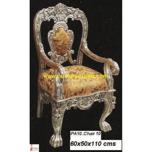 Silver Carved Chairs