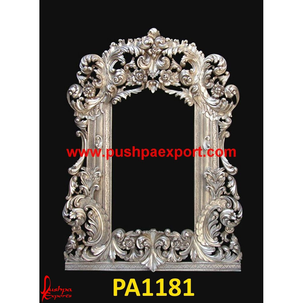 Silver Carved Dressing Tables and Frames