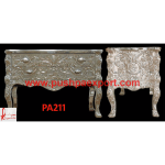 Silver Carved Chest of Drawers
