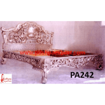 Silver Angel Carving Bed