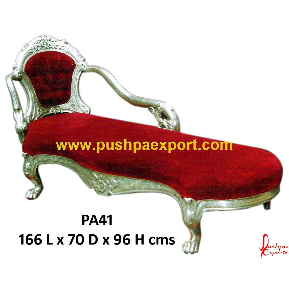 Silver Carving Daybed