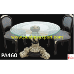 Round Dining Table and Chairs Set