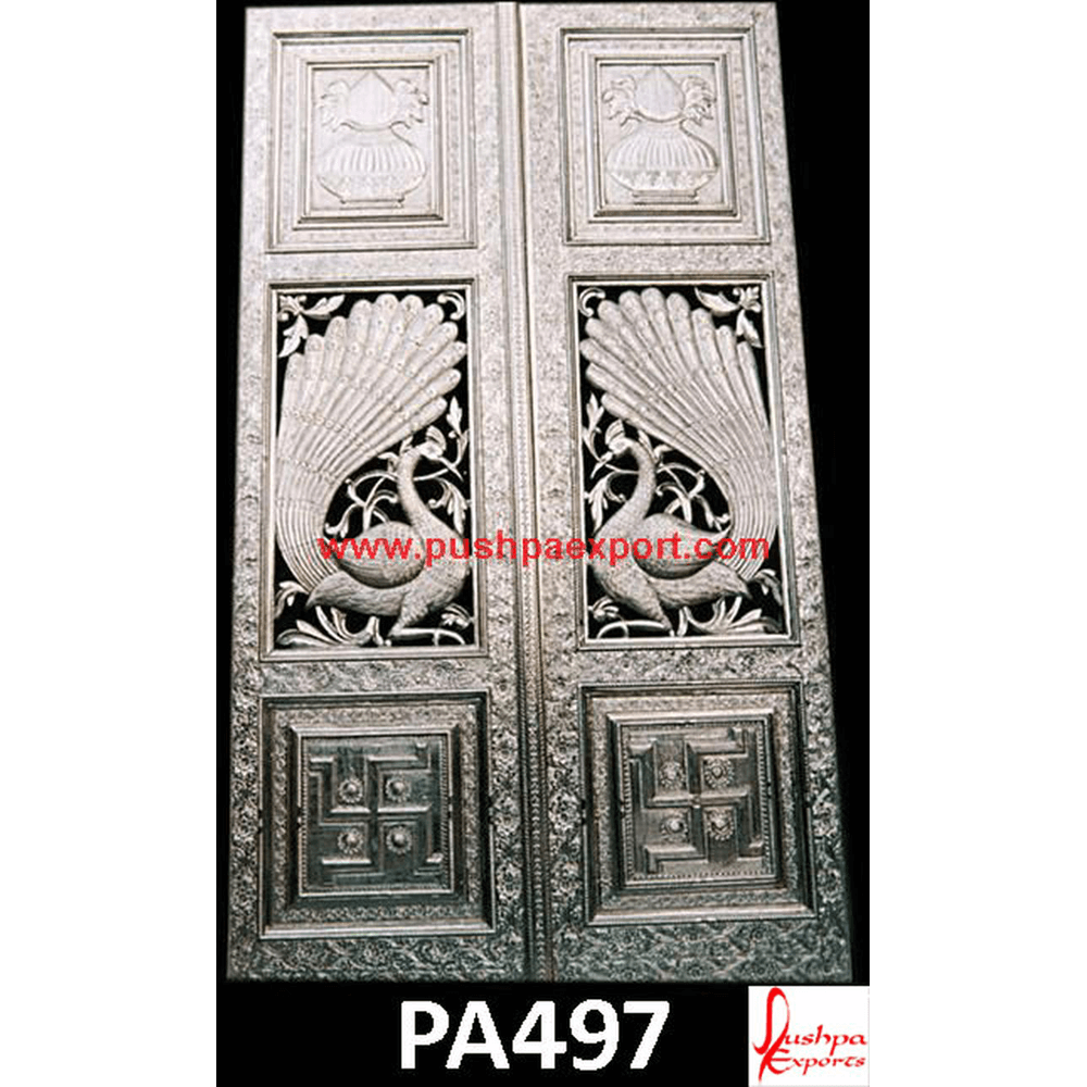 Silver Carved Doors