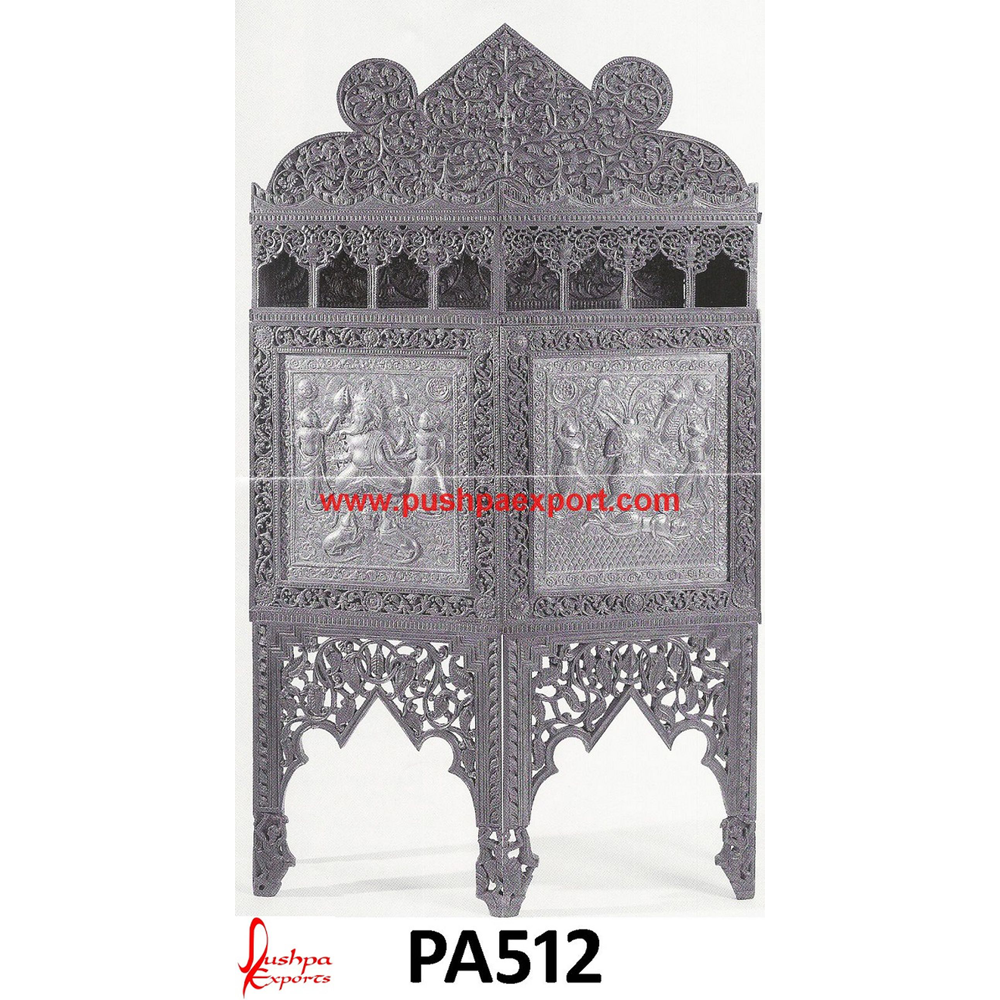 Handmade Silver Carving Partition