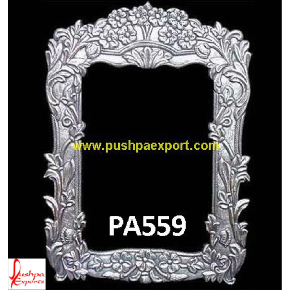 Bouquet Style Carving Mirror Frame
