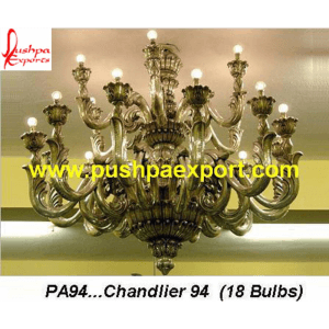 Silver Carved Chandeliers
