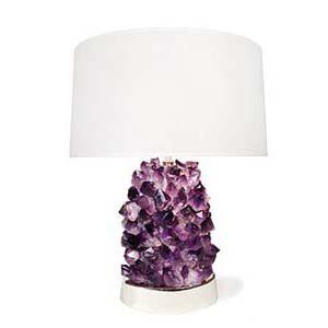 Semi Precious Stone Side Lamps
