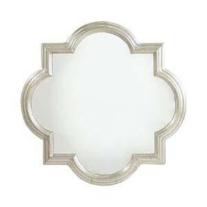 White Metal Mirror Frame