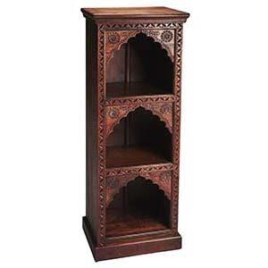 Wooden Carved Book Shelf