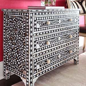 MOP Inlay Furniture